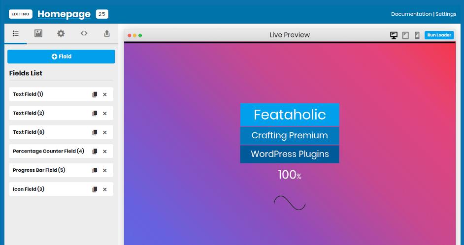 WordPress Plugin Admin Panel